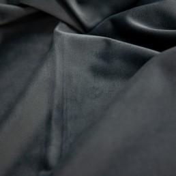 Draperie Velvet Lux, catifea, gri inchis