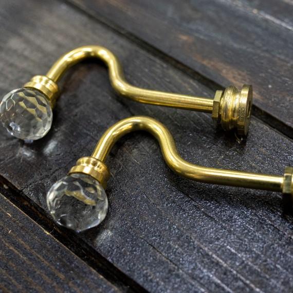 Sistem de perete, mini cristal auriu