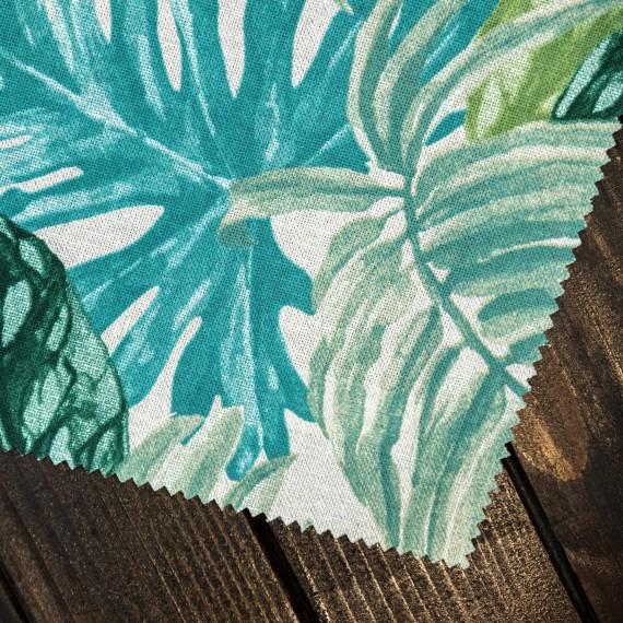 "Draperie ""Happy Home"", Tropical, verde"